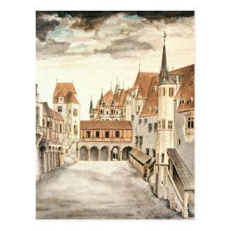 Carte Postale Cour de l'ancien château à Innsbruck