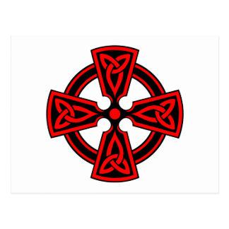 CARTE POSTALE CROIX CELTIQUE - CELT/IRISH/IRELAND/IRISH/IRISHMAN