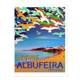 Carte postale d'Albufeira Algarve Portugal