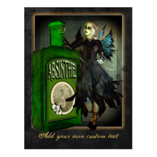 Carte postale de féerie d'absinthe