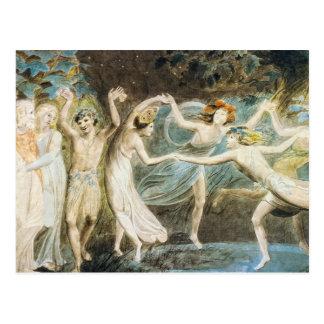 Carte postale de fées de danse