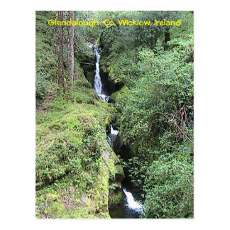 Carte postale de Glendalough (Irlande)