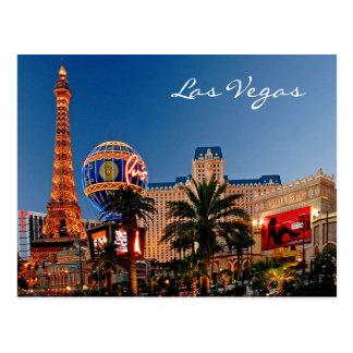 Carte postale de Las Vegas