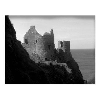 Carte postale de l'Irlande du Nord de château de