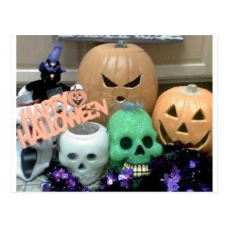 Carte postale de mauvais goût de Halloween