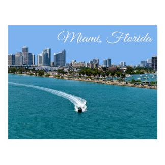 Carte postale de Miami Beach la Floride de baie de