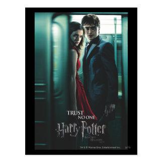 Carte Postale De mort sanctifie - Harry et Hermione