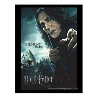 Carte Postale De mort sanctifie - Snape 2