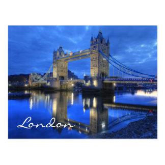 Carte postale de pont de Londres