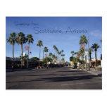 Carte postale de Scottsdale, Arizona