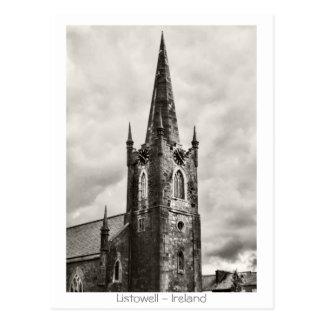 Carte Postale Église de Listowell