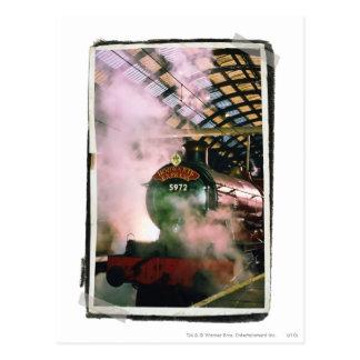 Carte Postale Express de Hogwarts
