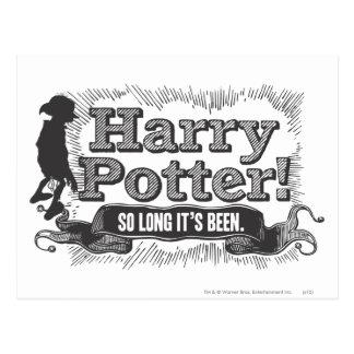 Carte Postale Harry Potter ! Tellement longtemps il a été