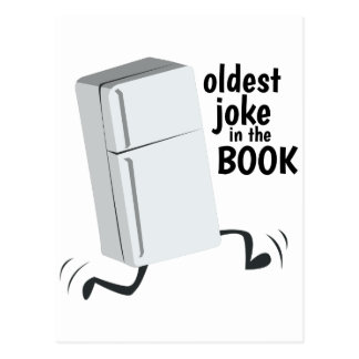 Carte Postale La plaisanterie la plus ancienne dans le livre