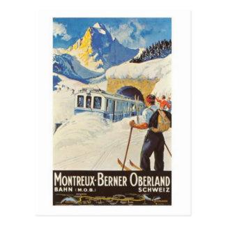 Carte Postale La Suisse vintage -