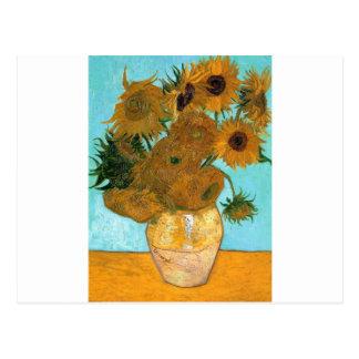 Carte Postale La vie toujours : Tournesols - Vincent van Gogh
