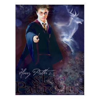 Carte Postale Le mâle Patronus de Harry Potter