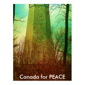 Carte Postale Le phare le plus ancien à Toronto