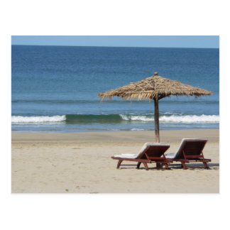 Carte Postale Le soleil, plage et mer