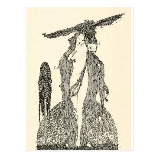 Carte Postale Les contes de fées de Clarke