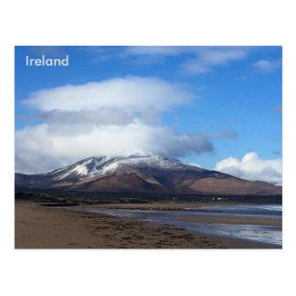 Carte Postale Montagne de Beenoskee, Cie. Kerry, Irlande