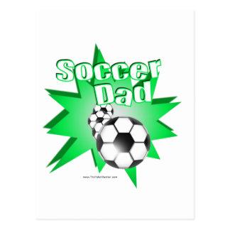 Carte Postale Papa du football