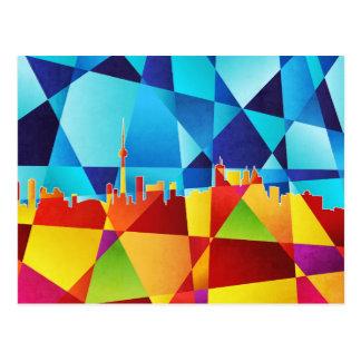 Carte Postale Paysage urbain d'horizon de Toronto Canada