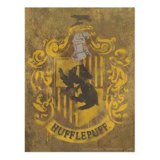 Carte Postale Peinture de jet de crête de Harry Potter  