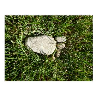 Carte Postale Pied de pierre