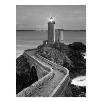 Carte Postale Plouzane noir et blanc