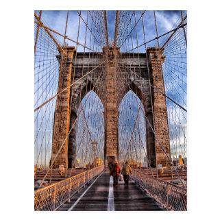 Carte Postale Pont de Brooklyn, New York