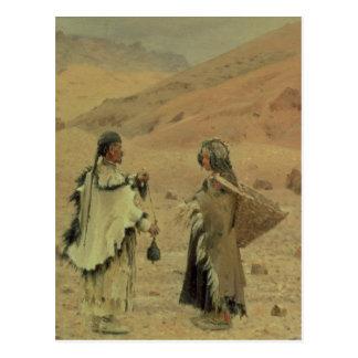 Carte Postale Tibétains occidentaux, 1875
