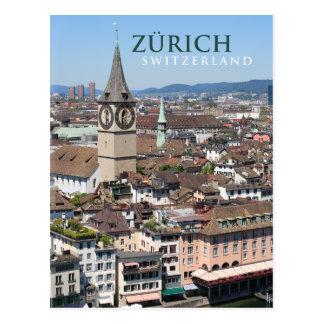 Carte Postale Zurich Suisse