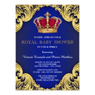 Carte Prince de fantaisie royal baby shower