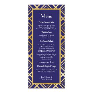 Carte Réception des années 1920 de mariage de menu de