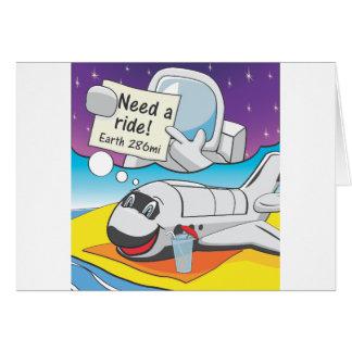 Carte Retraite de navette spatiale