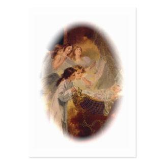 Carte sainte (blanc/coutume) : Le bonheur de la Carte De Visite Grand Format