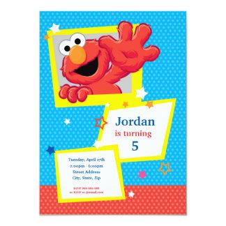 Carte Sesame Street   Elmo - anniversaire de point et