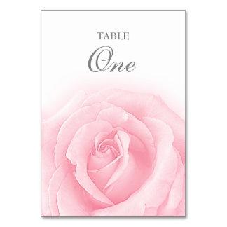 Carte Tableau Romance numéro 1 de mariage de rose de