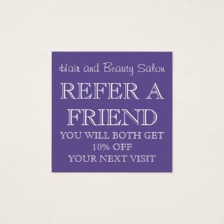 Carte ultra-violette de référence de salon de