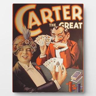 Carter das große fotoplatte
