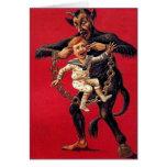 Cartes de Noël de Krampus