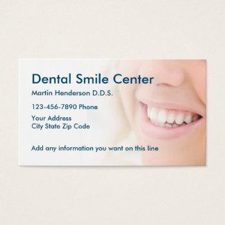 Cartes De Visite Bureau de dentiste