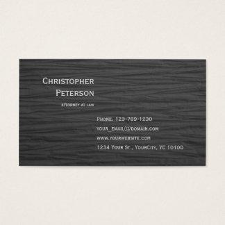 Cartes De Visite Bureau élégant texturisé minimaliste d'avocat
