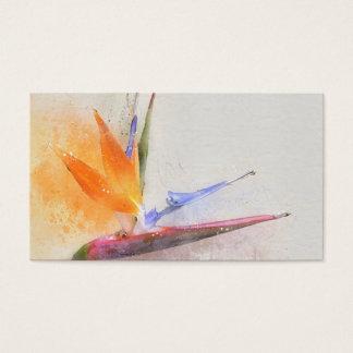 Cartes de visite d'aquarelle