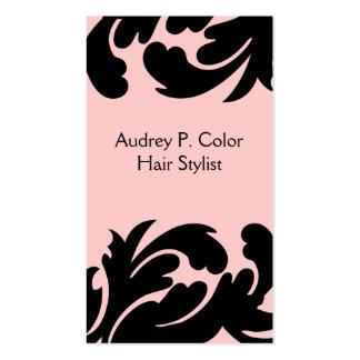 Cartes de visite de coiffeur cartes de visite professionnelles