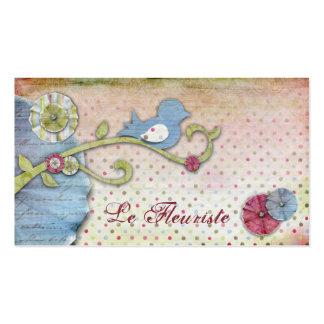 Cartes de visite de Le Fleuriste Cartes De Visite Personnelles