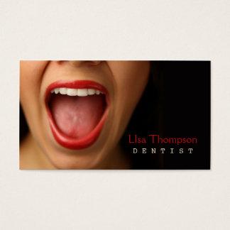 Cartes De Visite Dentiste/clinique médicale dentaire de visage