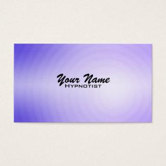 Cartes de visite d'hypnose