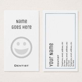 "Cartes de visite ""essentiels"" de dentiste"